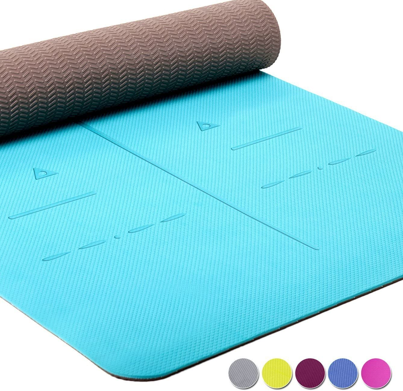 Heathyoga Eco-Friendly Yoga Mat